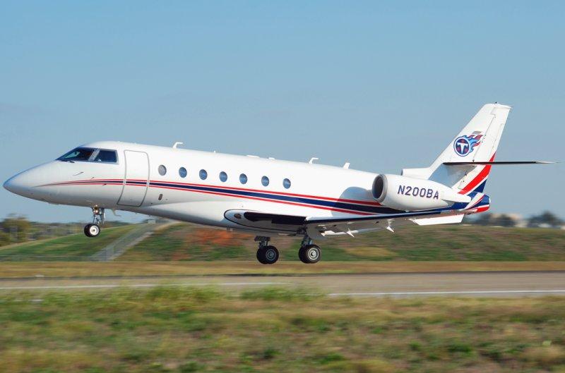 Tennessee Titans Gulfstream 200 (N200BA)