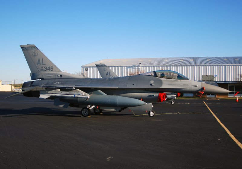 US Air Force General Dynamics F-16C Fighting Falcon (86-0346) **City of Greenville**