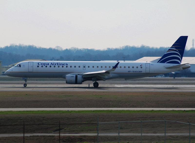 Copa Airlines Embraer ERJ-190-100IGW (HP-1540CMP)