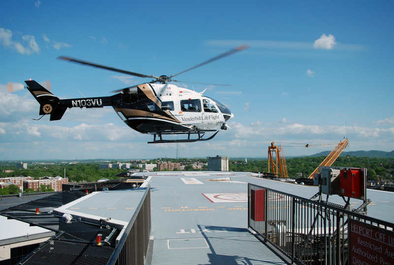 Vanderbilt University LifeFlight Eurocopter EC-145 (N103VU)