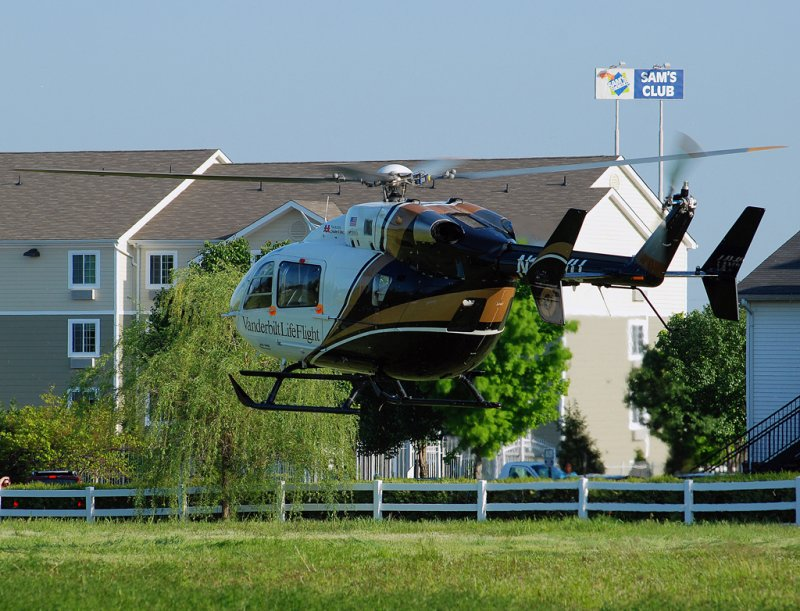 Vanderbilt University LifeFlight Eurocopter EC-145 (N102VU)