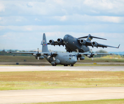 US Air Force Lockheed C-130 Hercules (93-2453) North Carolina Air National Guard
