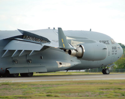US Air Force Boeing C-17A Globemaster III (06-6168) Dover Air Force Base