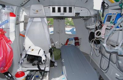 Vanderbilt University LifeFlight Eurocopter EC-145 (N103VU)  **Cabin**