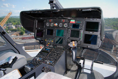 Vanderbilt University LifeFlight Eurocopter EC-145 (N103VU)  **Cockpit**