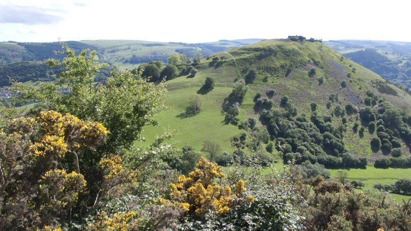 Clwyd Trevor Rocks outward views
