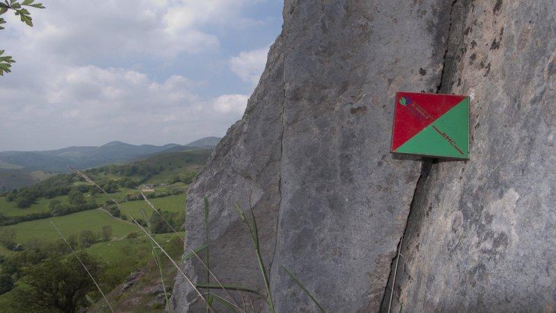Clwyd Trevor Rocks BMC restriction markers