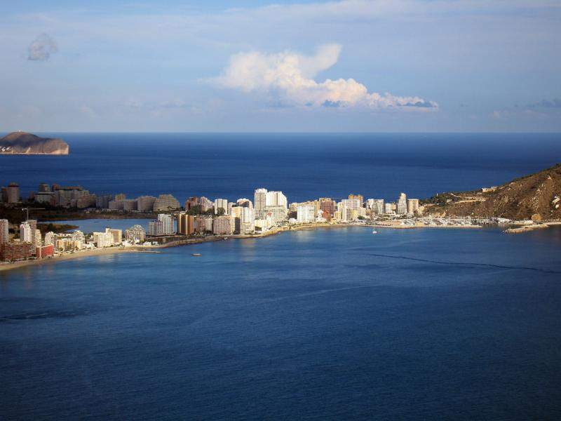 Calpe from the Toix Mirador