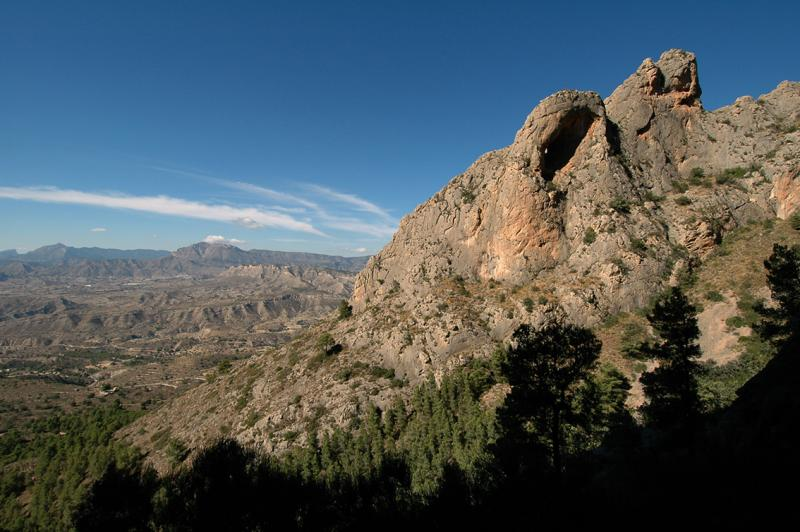 The view out from Cabezon
