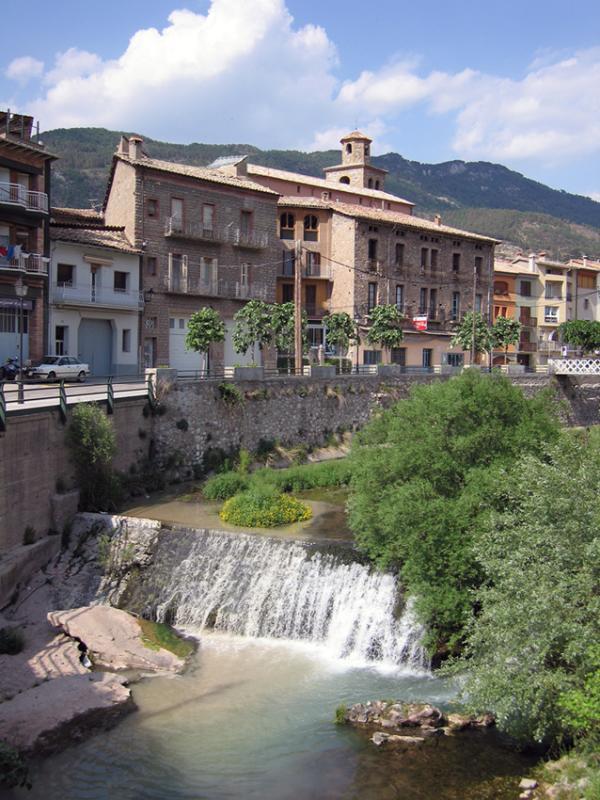 La Pobla and cascade