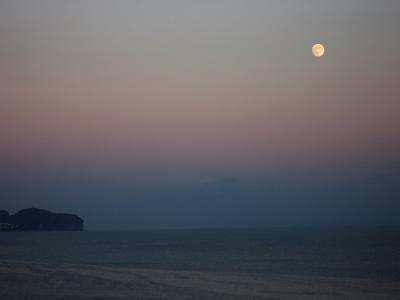 Calpe moonrise