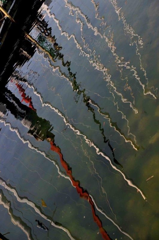 ...reflection...Wards island....