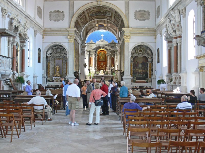 Church of St. George interior