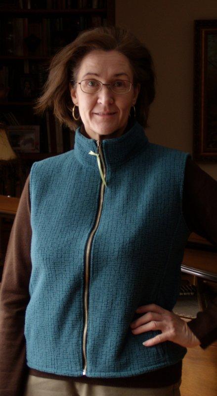 Zipped Fleece Vest