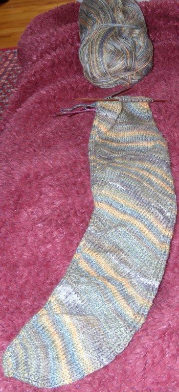Skew Socks 2nd Version in progress