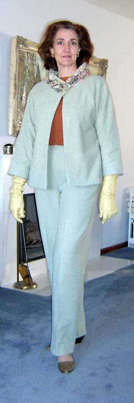 Melton Pants with Jacket