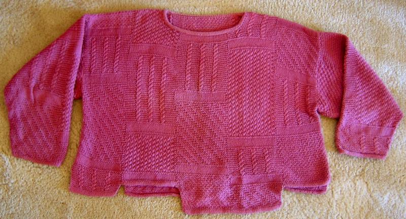Sampler Sweater