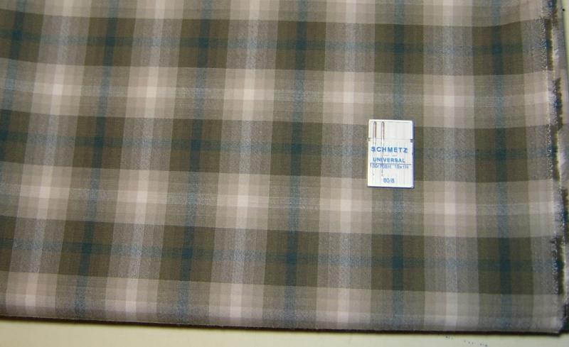 Featherweight Wool Shirting Plaid