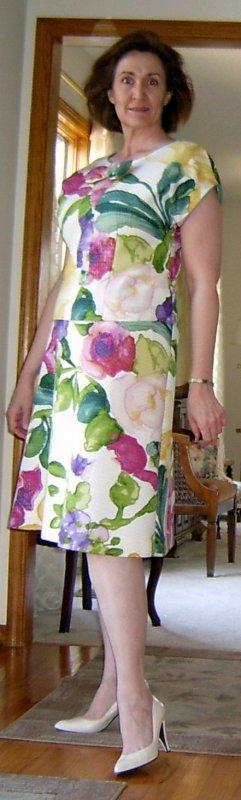 2-piece Floral Dress Side