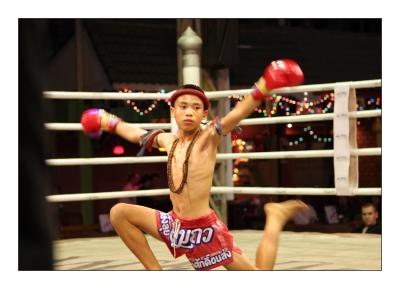 A Muay Thai boxing story...