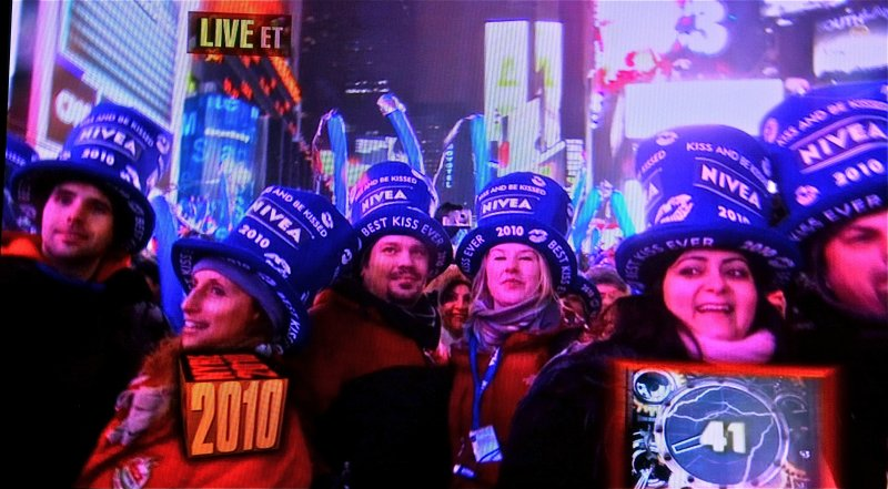 Times Square - New Years Eve 2009