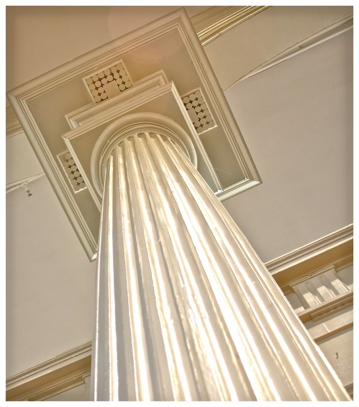 Christ Church interior column