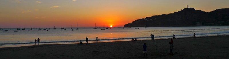 Sunset at San Juan del Sur Bay