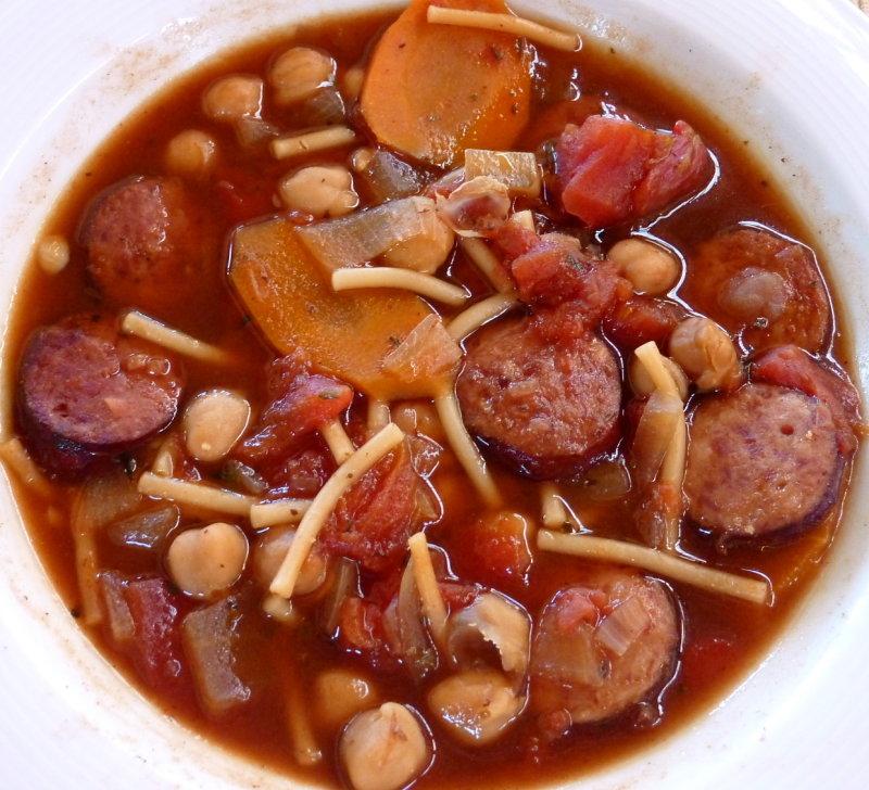 Cajun Sausage Soup