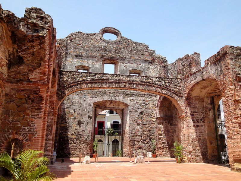 Ruins from the Old Convent of Santo Domingo