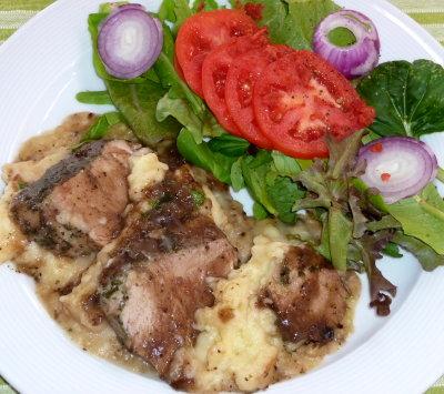 Tuscan Grilled Pork Tenderloin