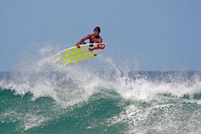 Rex Calderón Central American Junior Surf Champion 2008