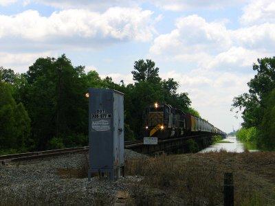 Bonnet Carre Spillway Train Trestle