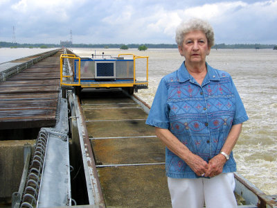 Displaced When She Was a Little Girl by the Bonnet Carre Spillway