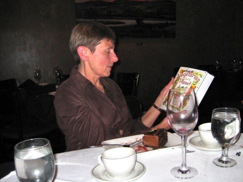 Vegetarian Cookbook, Gift From Kristen & Doug