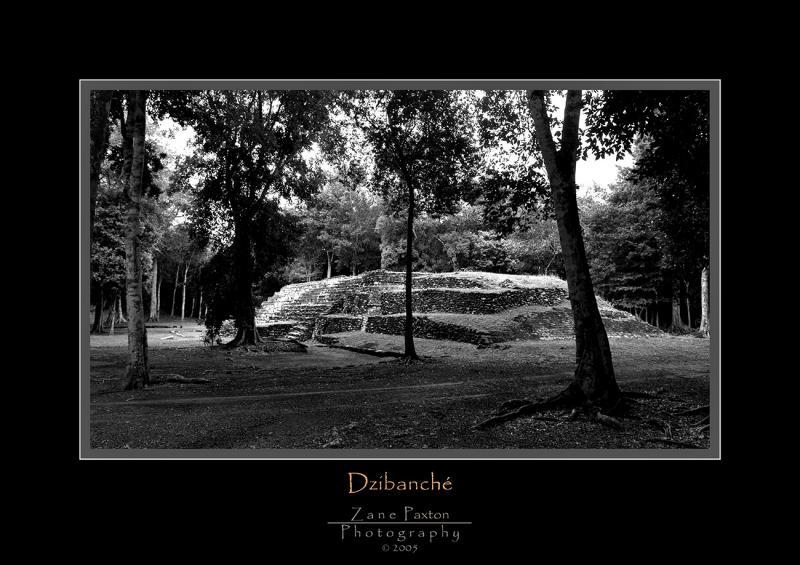 Dzibanche Pyramid-2