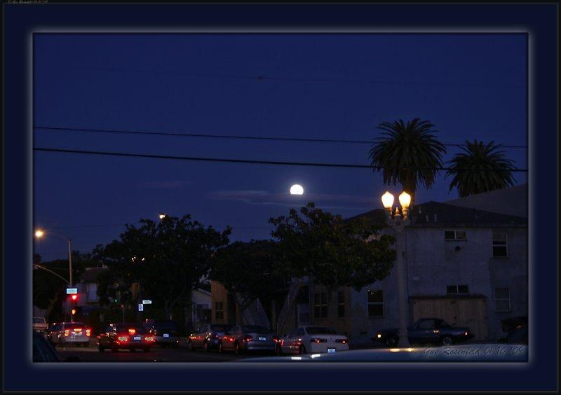 Lunar Vignette On The Way Back From Market