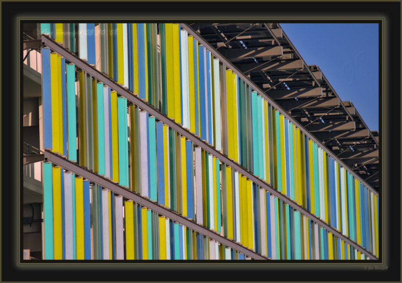 Rafters Floating Across Rapidly Changing Shades Of Color In Deep Blue Sky