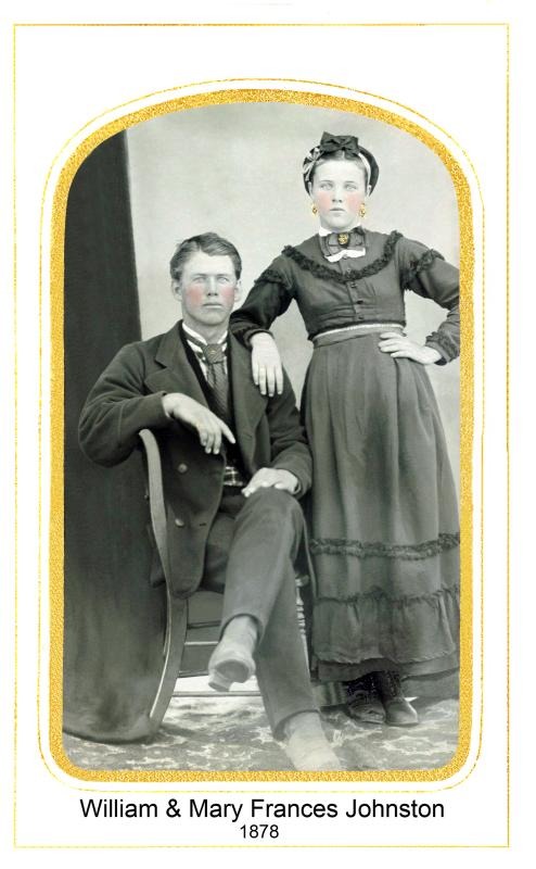 William Johnston  and  His Sister Mary Johnston (#12)