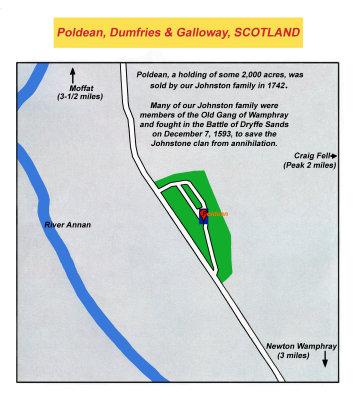 Map - Scotland - Poldean