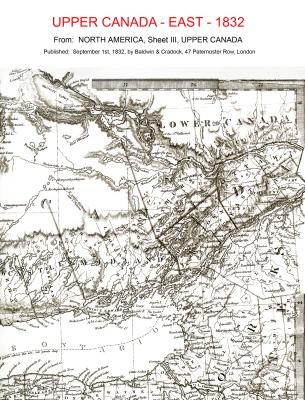 Map - Upper Canada 1832 - east