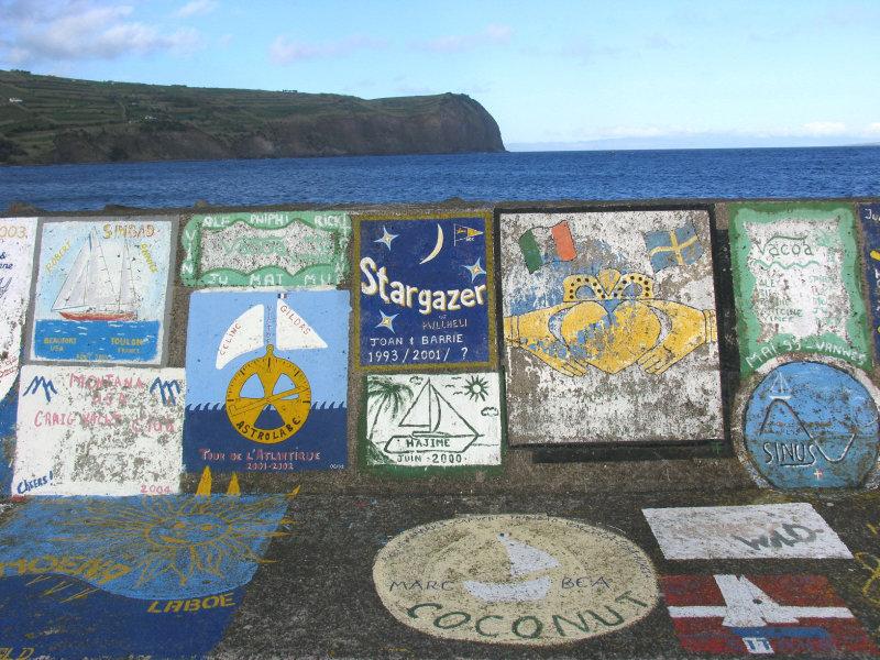Port of Horta, island of faial
