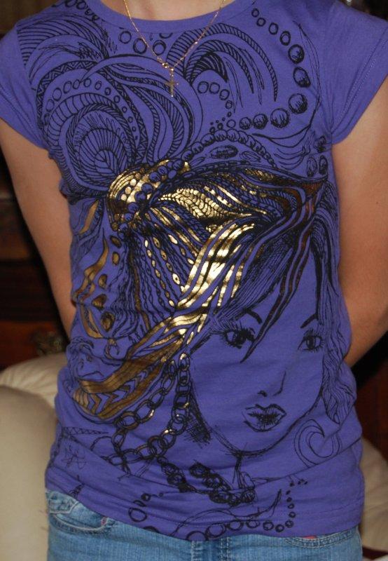 The Purple T-Shirt