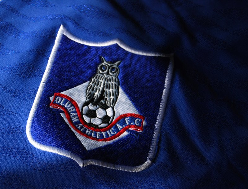 Oldham Athletic Shirt