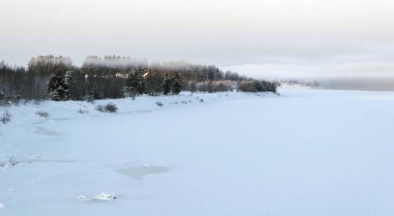 Frozen river #2