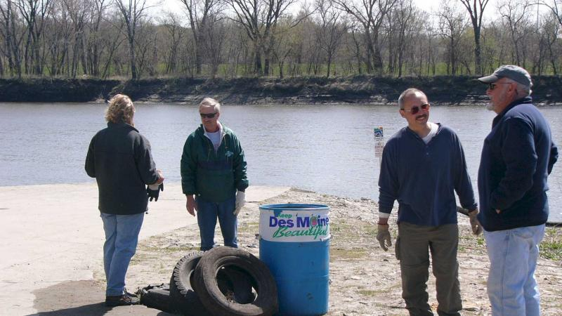 River Access Cleanup