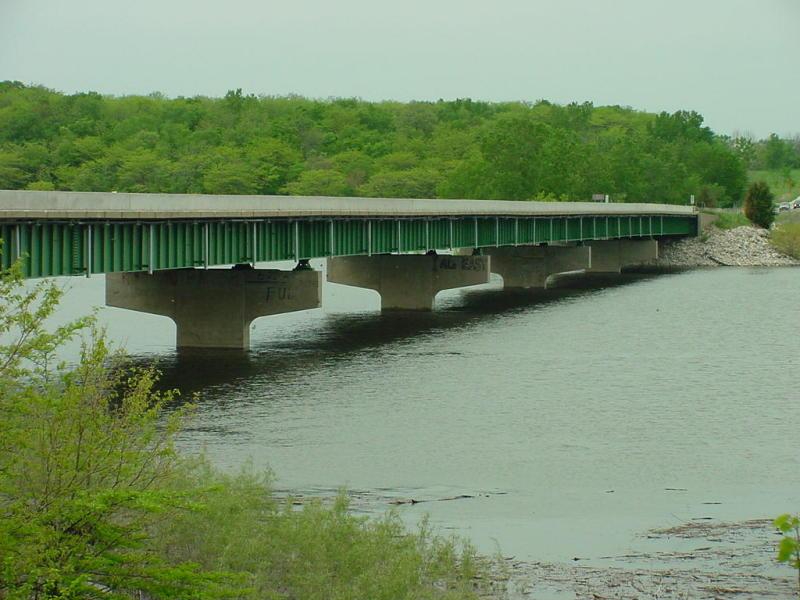 Hwy 17 Bridge at High Water