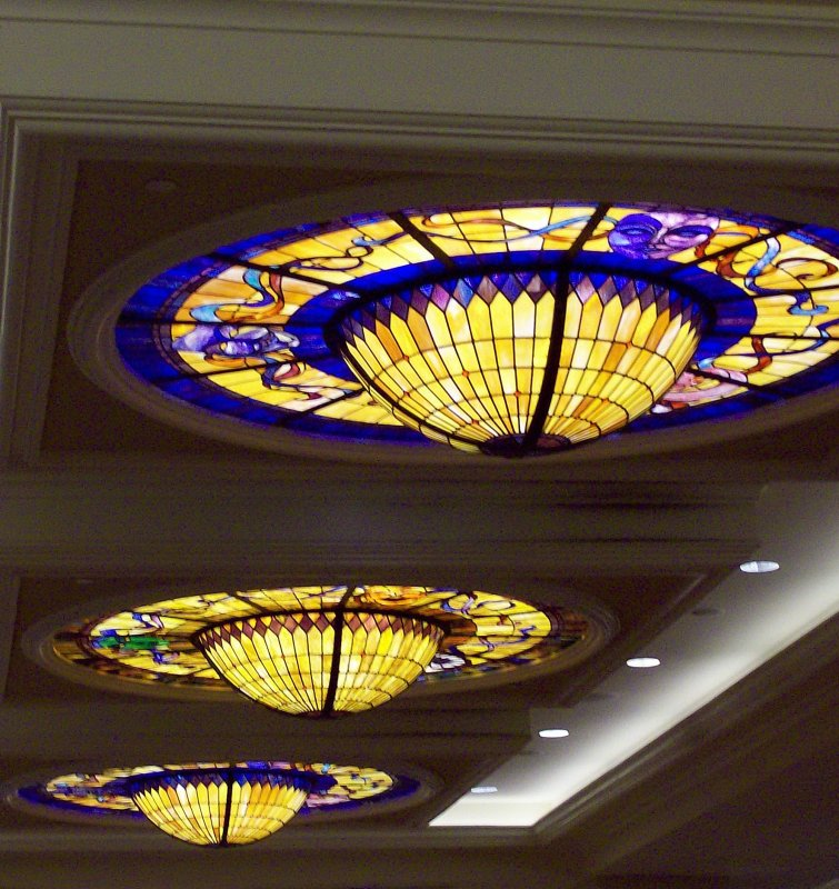 Ceiling Lights at the Showboat Casino