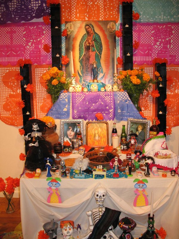 Day of the Dead display, Austin