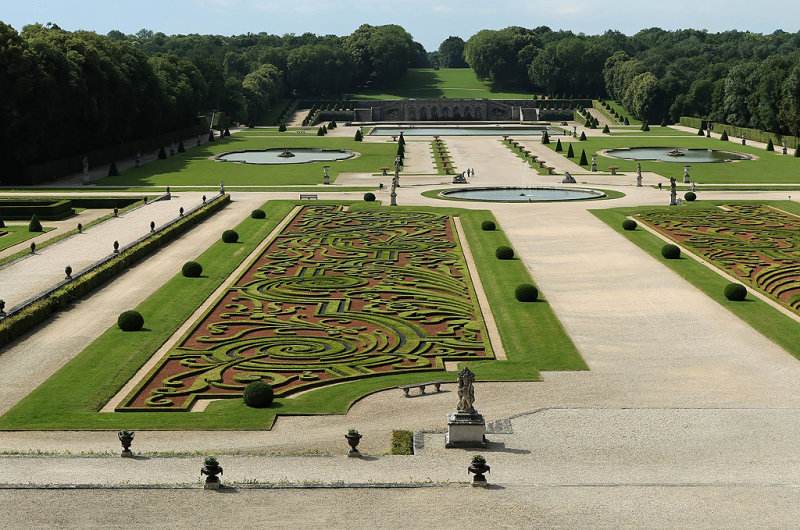 Visite du château de Vaux le Vicomte