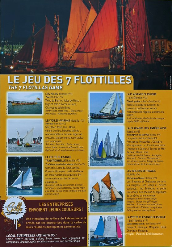 Semaine du Golfe 2009 - Plaquette dinformation des équipages